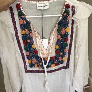 Antik Batik Lovi blouse size small 38